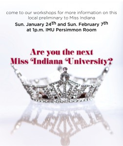 Miss IU workshop dates